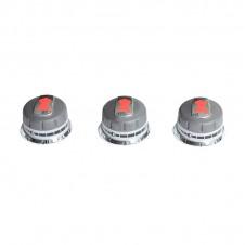 Lot de 3 boutons de réglage gaz pour barbecues Genesis série 300 - WEBER