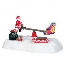 "Scène ""Santa's seesaws"" - LEMAX"