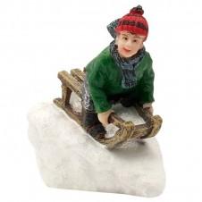 "Figurine ""Fun On Sledge"" - LUVILLE"