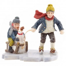 "Figurine ""Ice Skating With Friend"" - LUVILLE"