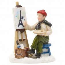 """Figurine """"Dennis Is Painting"""" - LUVILLE"""
