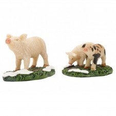 """Figurine """"Pig And Piglets"""" X2 - LUVILLE"""