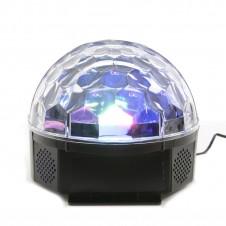 Boule disco avec détecteur de sons - multicouleur - LUMINEO