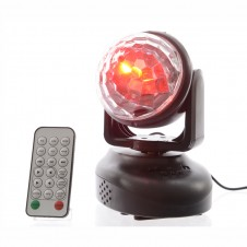 Boule disco LED avec musique - multicouleur - LUMINEO