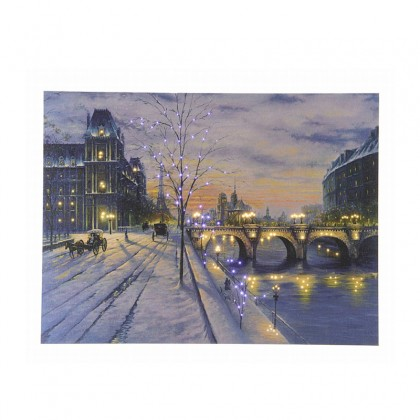 "Cadre lumineux ""Ville de Paris"" - LUMINEO"