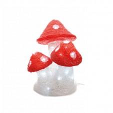 "Sujet acrylique led ""champignon"" - LUMINEO"