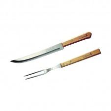 Set fourchette + couteau - BARBECOOK