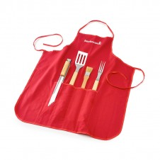 Set tablier + 4 accessoires FSC - BARBECOOK