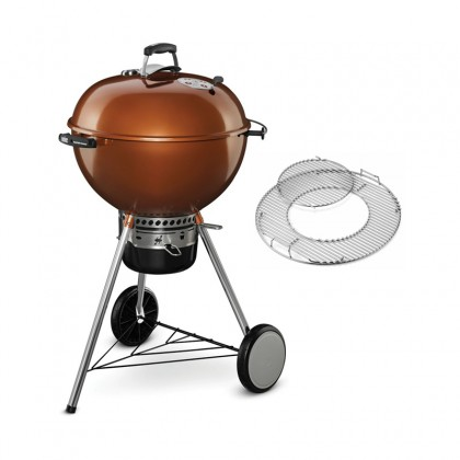 """Barbecue charbon """"Master-Touch GBS Cooper"""" 57 cm cuivre - WEBER"""