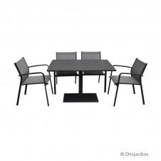 Ensemble 'Bristol' 1 table + 4 fauteuils - DESJARDINS