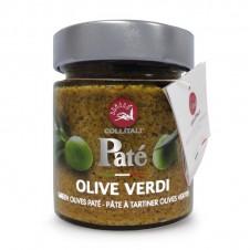 """Pâte à tartiner """"olives vertes"""" - 130 g - COLLITALI"""