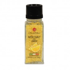 "Moulin ""sel jaune de Sicile arôme citron"" - 100 g - COLLITALI"