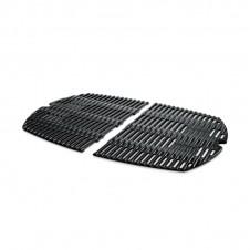 Lot de 2 grilles de cuisson en fonte émaillée Q séries 300 et 3000 - WEBER