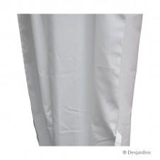 Rideau de rechange pour tonnelle - blanc x1 - DESJARDINS