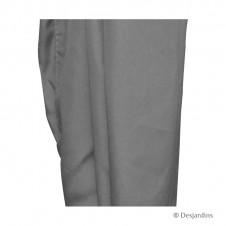 Rideau de rechange pour tonnelle - gris x1 - DESJARDINS