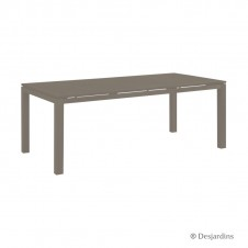 "Table ""Cardiff"" - 200x100 - marron - DESJARDINS"