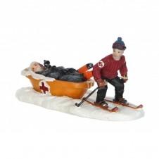 """Scène """"Ski rescue"""" - LUVILLE"""