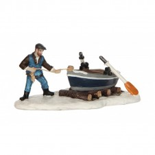 """Figurine """"Pulling the boat"""" - LUVILLE"""