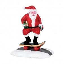 "Figurine ""Skateboard santa"" - LEMAX"