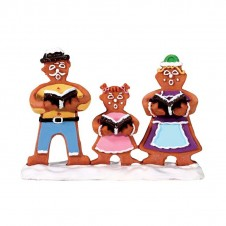"Figurine ""Gingerbread Carolers"" - LEMAX"