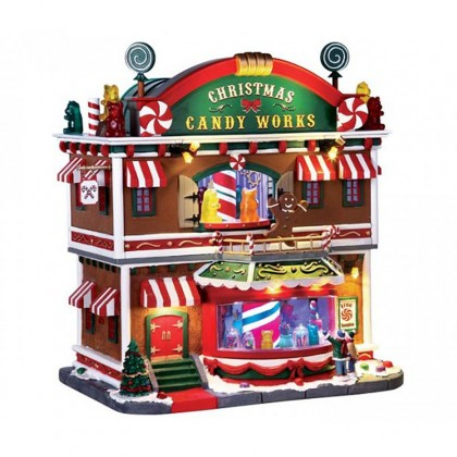"Maison ""Christmas Candy Works"" - LEMAX"