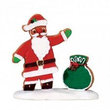 "Figurine ""Gingerbread Santa"" - LEMAX"