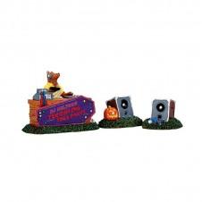 "Figurine ""DJ Wolfman"" - LEMAX"