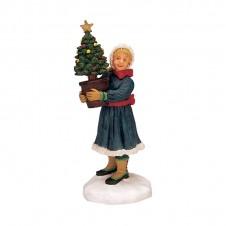 """Figurine """"The Tiniest Tree"""" - LEMAX"""