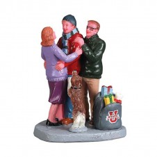 "Figurine ""Home for the Holiday"" - LEMAX"