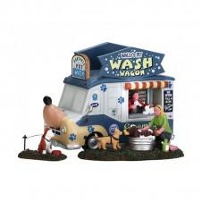 "Figurines ""Wally's Pet Wash Wagon"" - LEMAX"