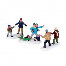 "Figurines ""Family Football"" - LEMAX"