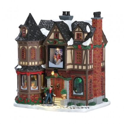"Maison ""Scrooge's Manor"" - LEMAX"