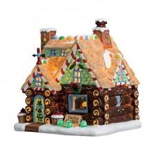 "Maison ""Yule Log Cabin"" - LEMAX"