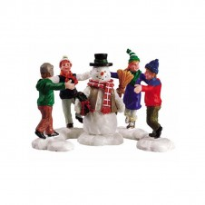"""Figurines """"Ring around the snowman"""" - LEMAX"""