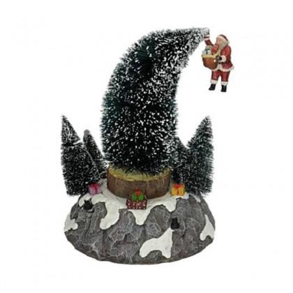 """Scène """"Santa is falling"""" - LUVILLE"""