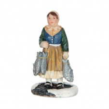 "Figurine ""Buying lachs"" - LUVILLE"