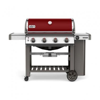 """Barbecue gaz """"Genesis II E-410 GBS"""" rouge - WEBER"""