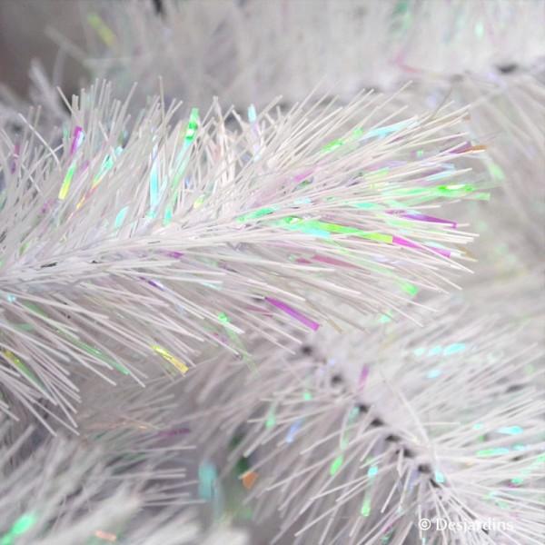 sapin artificiel white siris iridescent 185 cm triumph tree. Black Bedroom Furniture Sets. Home Design Ideas