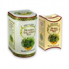 Mélange bio salade - 4 herbes - recharge