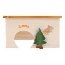 """Maison en bois """"Lena"""" Zolux - 157x118x89mm"""