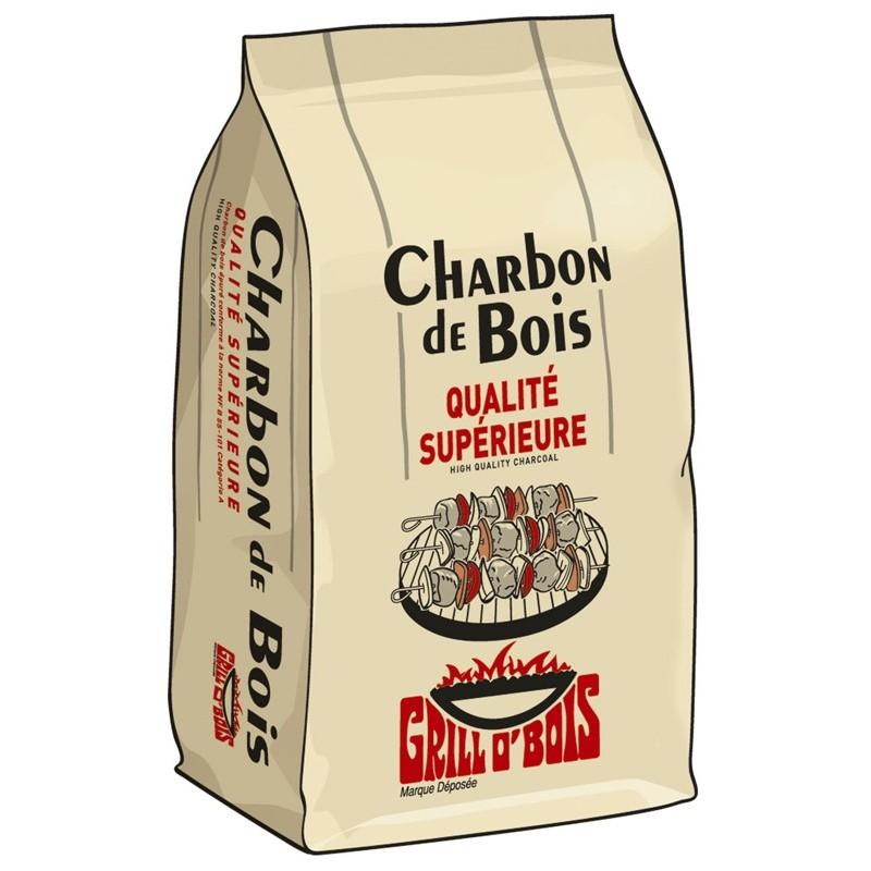 Charbon de bois Grillo'bois - 20L