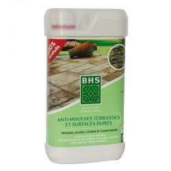 Anti-mousse BHS terrasses - 830ML+20%