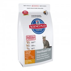 "Science Plan™ ""Feline Young Adult Sterilised Cat"" poulet - 1,5kg"