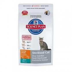 "Science Plan™ ""Feline Young Adult Sterilised Cat"" thon - 1,5kg"