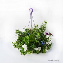 Suspension de plantes fleuries - ø26cm