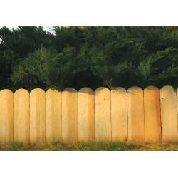Bordure décorative à planter - 25/45x120cm