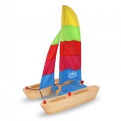 Catamaran VILAC bois - 28x38x17cm
