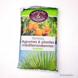 Terreau pour agrumes et plantes méditerranéennes - 40L