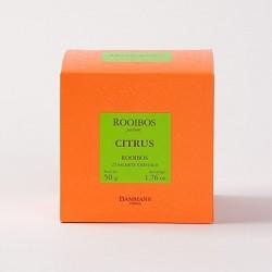 Rooibos Citrus Dammann - Boîte de 25 sachets Cristal