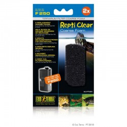 Blocs de mousse grossière X2 pour filtre Repti Clear F250 - Exo Terra